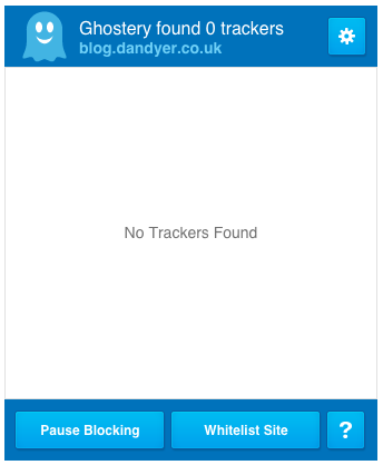 No trackers on this site.